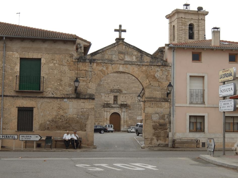 Pesquera miasteczko brama