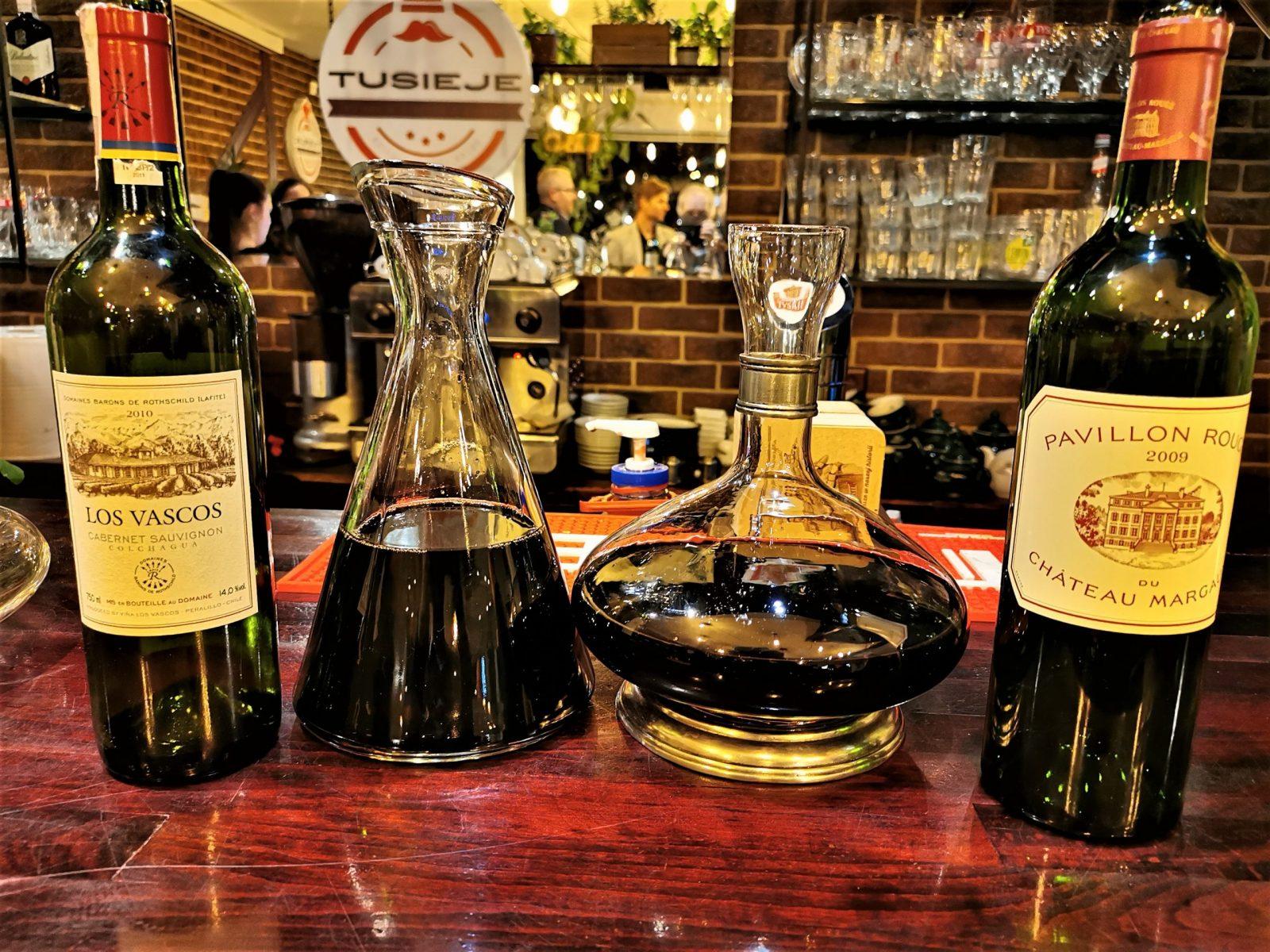 Kiedy i jak dekantować wino?