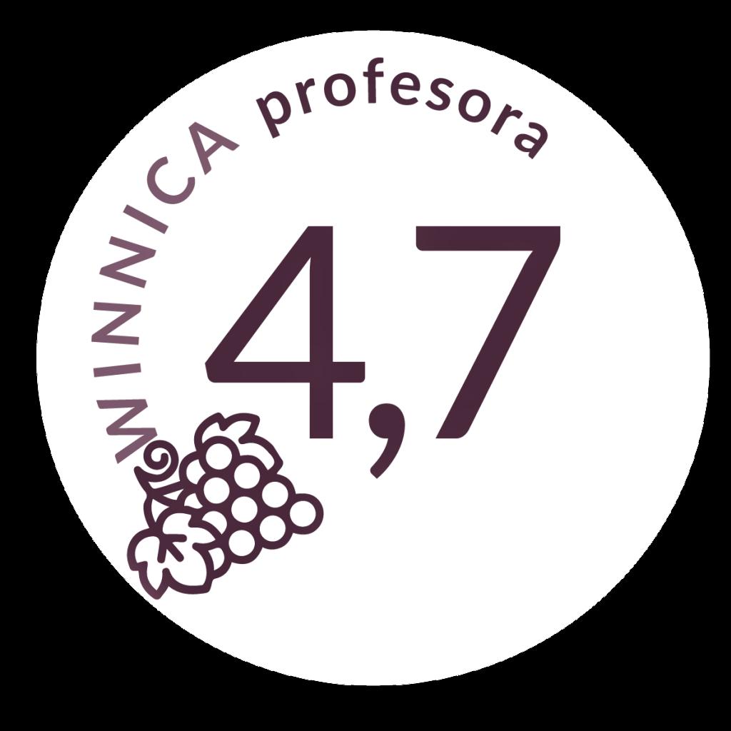 Queirón Reserva z oceną 4,7 na 9.