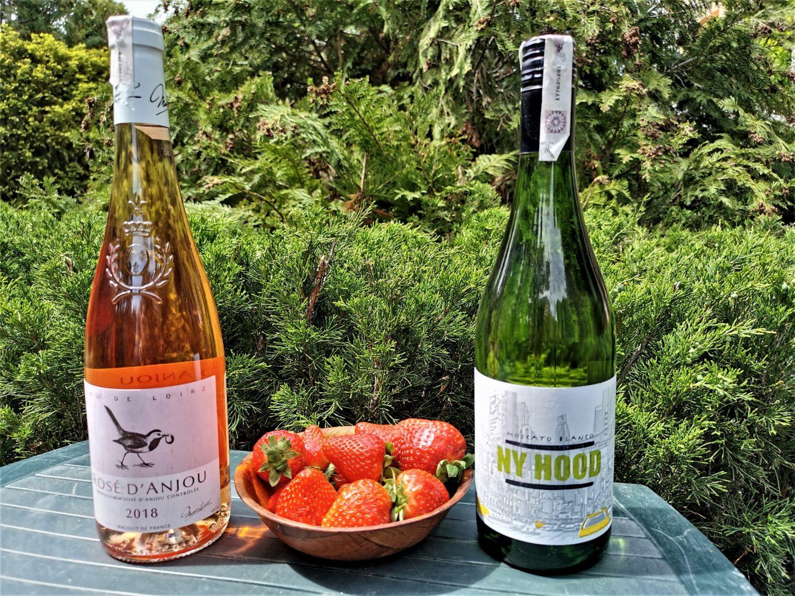 Muscat, najlepsze wino do truskawek