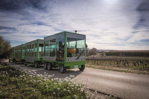 Bodegas Torres - pojazd elektryczny.