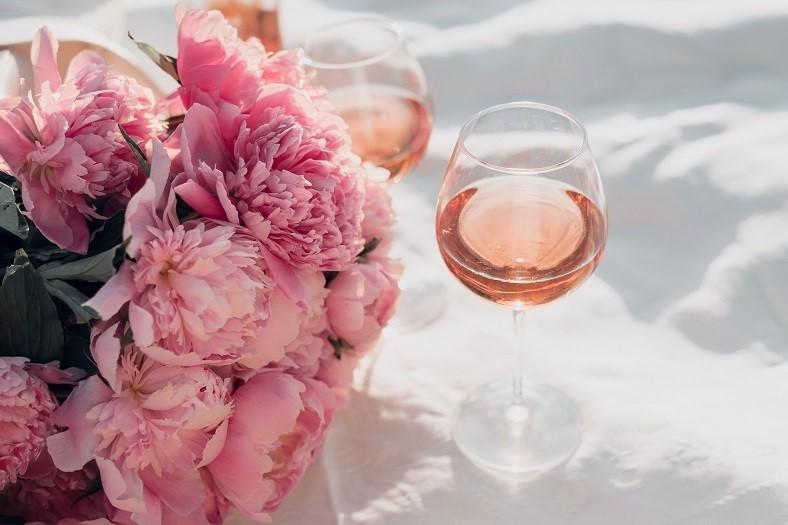 Francuskie wina różowe