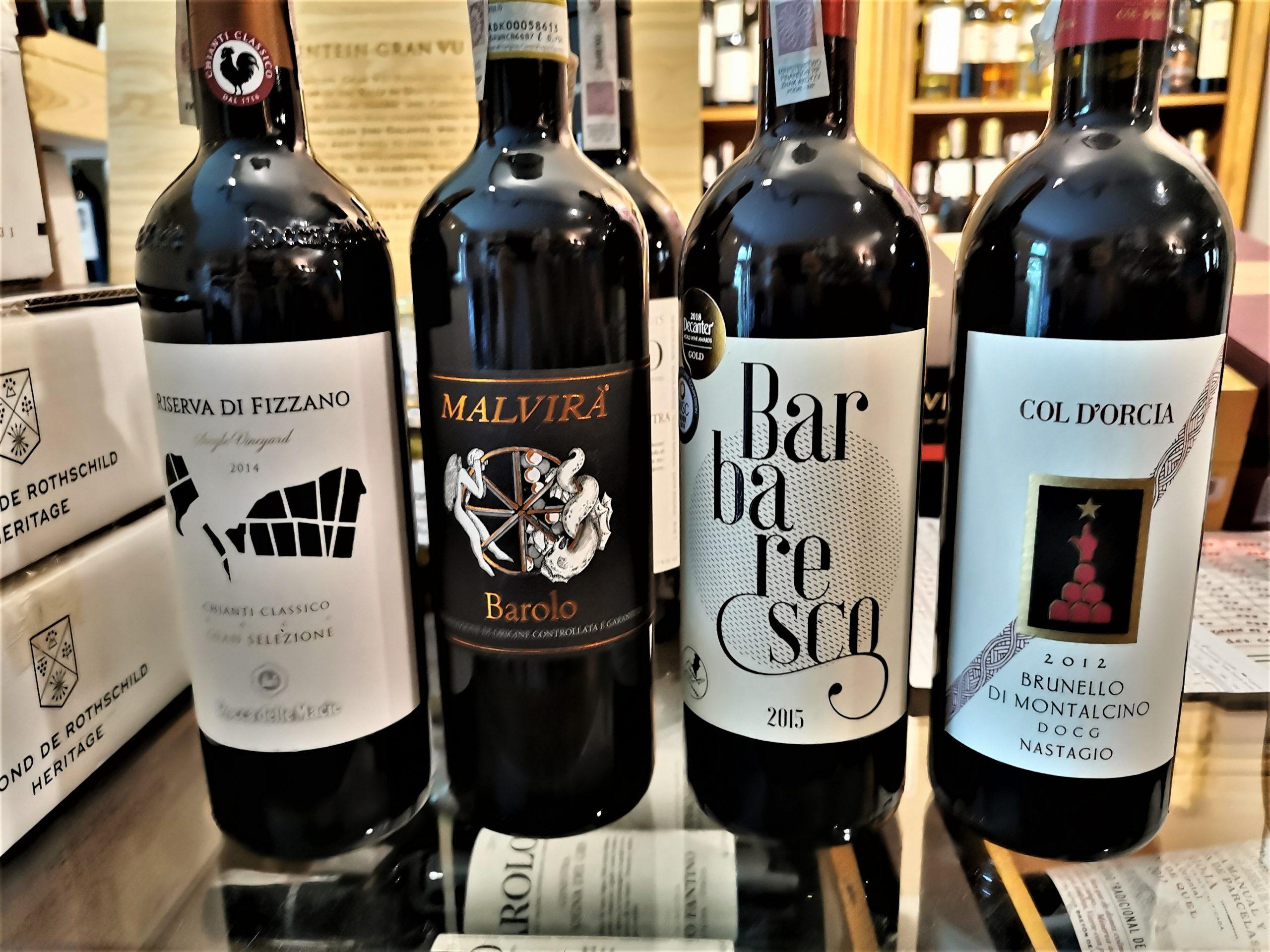 Włoskie wina na topie