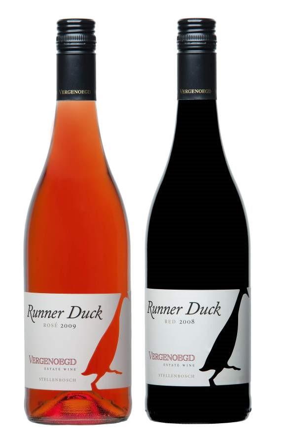 Zwierzęta w winnicy, wino z kaczką.