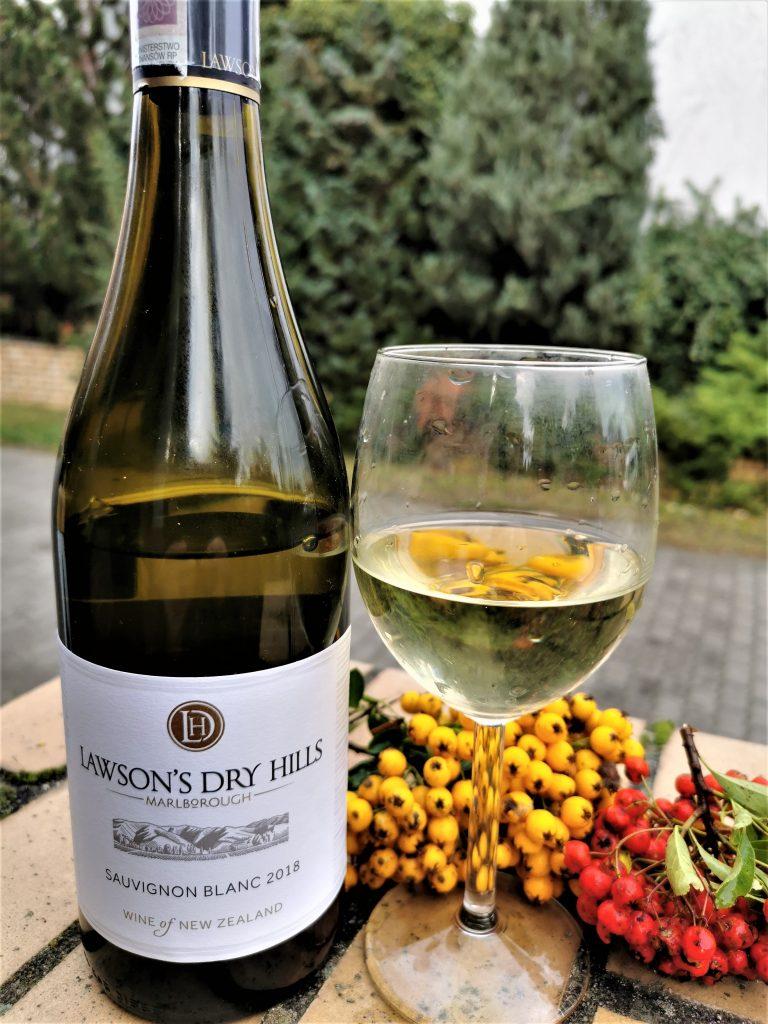 Sauvignon Blanc z Malborough, Nowa Zelandia.