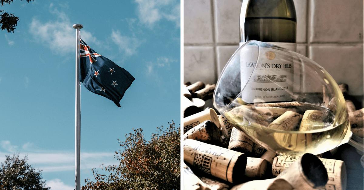 Sauvignon Blanc z Malborough – Nowa Zelandia
