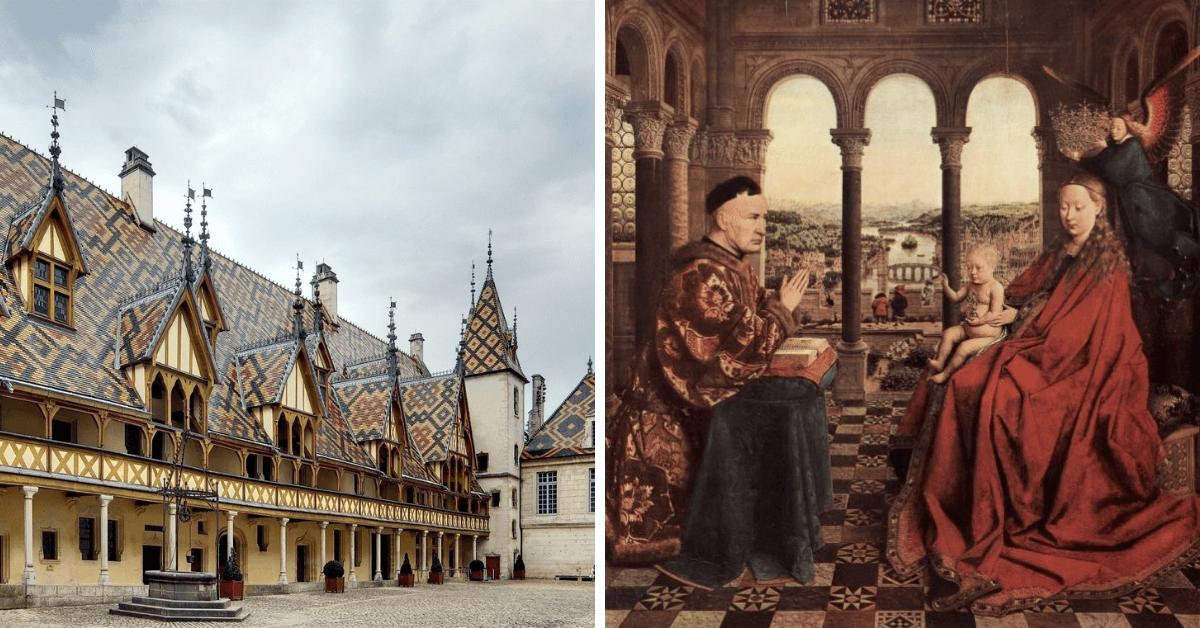 Kartka z historii wina – Nicolas Rolin założyciel Hospices de Beaune