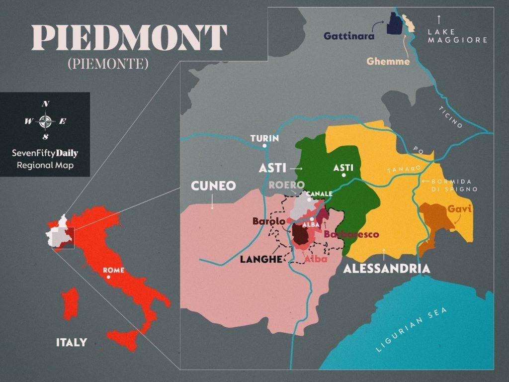 Barbera d'Asti - region Piedmont.