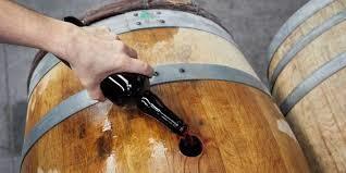 Piwo jak wino, ponieważ dojrzewało w beczce.