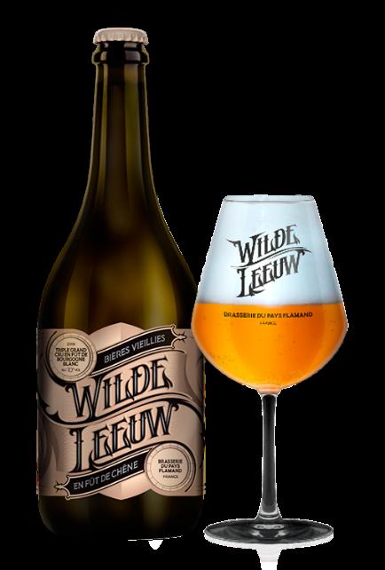 Piwo jak wino, ponieważ dojrzewało w beczce - Wilde Leeuw.