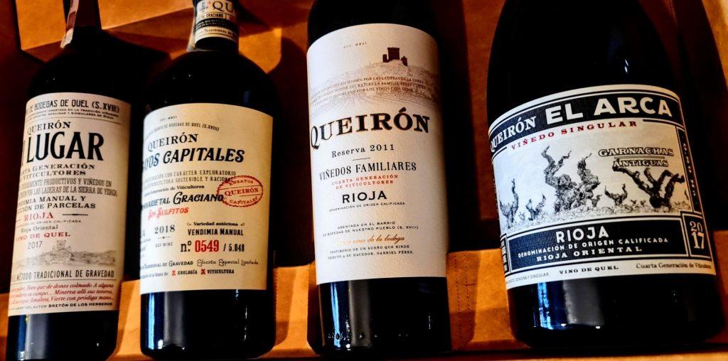 Wina w Rioja.