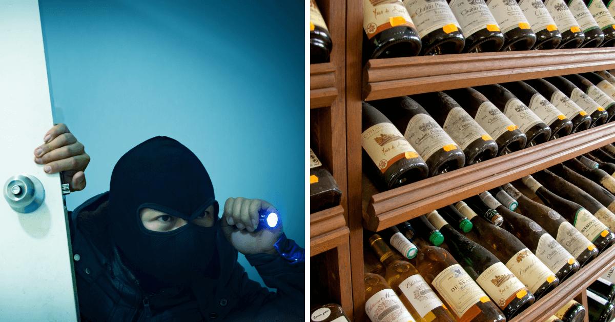 Złodzieje win, które wycenia się na miliony euro