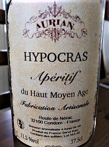 Hipokras - butelka.