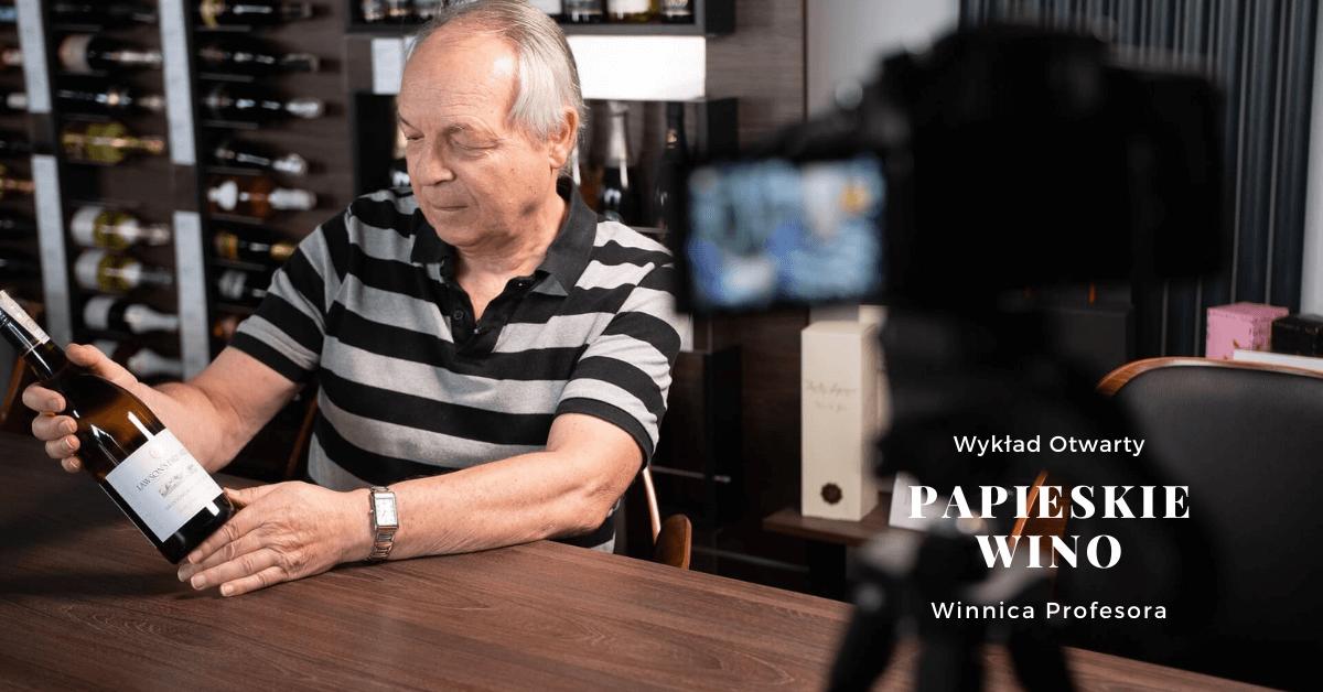 Fascynująca historia wina, Wino Papieży – wykład otwarty