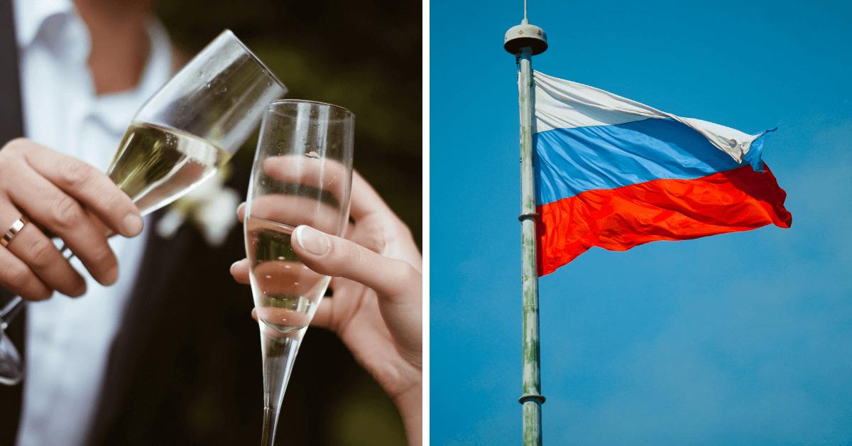 Read more about the article Rosyjski szampan – wino i polityka