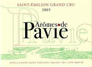 Drugie wina - Arômes de Pavie z Château Pavie.