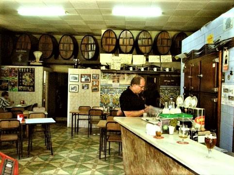 Wino w Barcelonie.