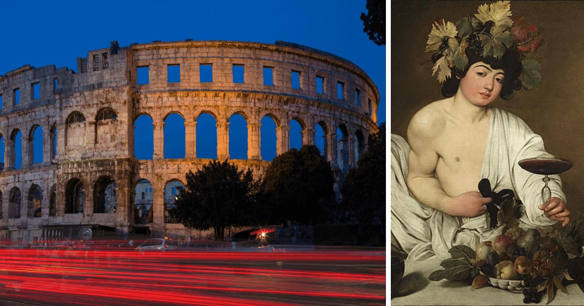 Jakie wino pili starożytni Rzymianie?