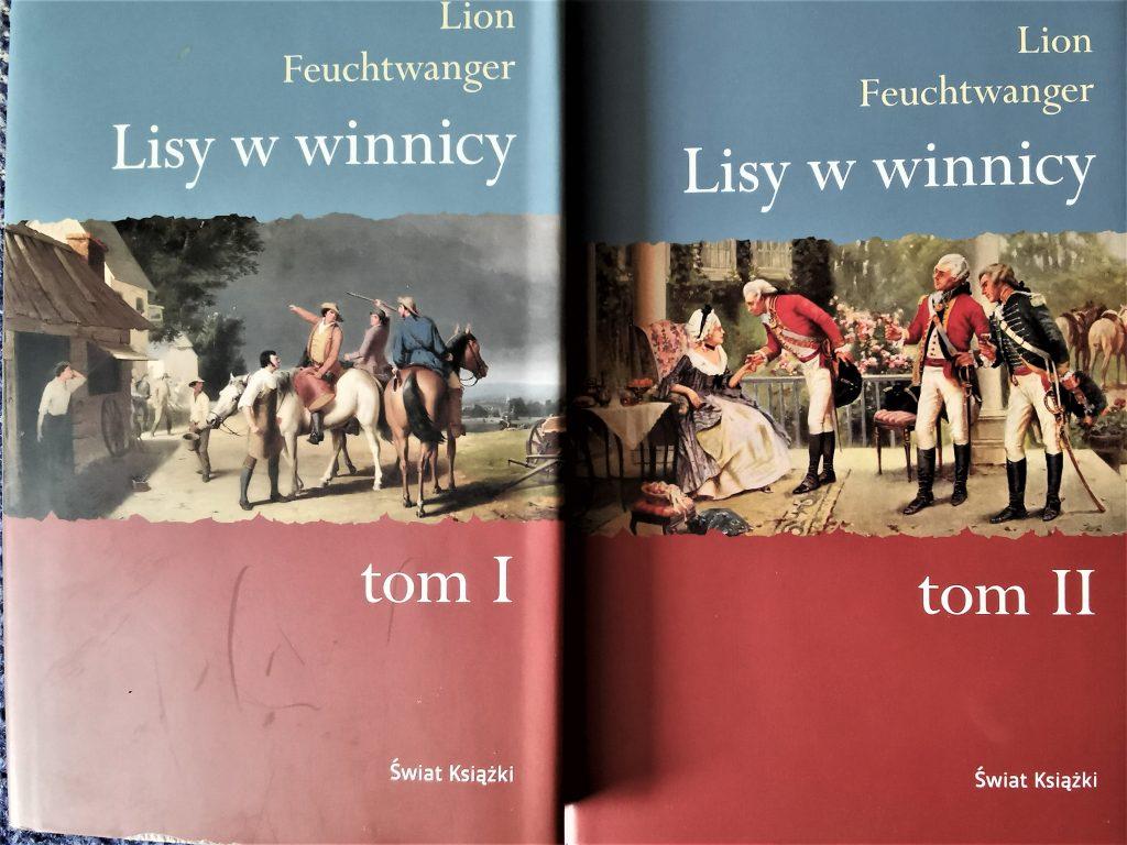 """Wino Jeffersona - polecam książkę """"Lisy w Winnicy""""."""