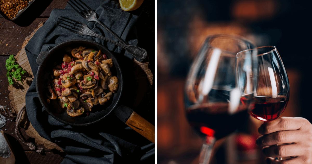 Jakie wino do grzybów?